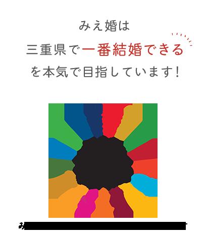 みえ婚は三重県で一番結婚できるを本気で目指しています!
